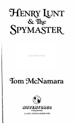 Henry Lunt and the Spymaster