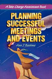 Planning Successful Meetings and Events