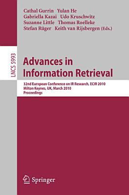 Advances in Information Retrieval PDF