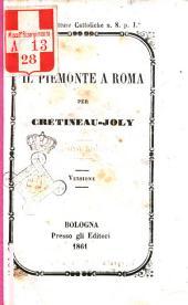 Il Piemonte a Roma