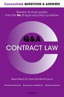 Concentrate Questions and Answers Contract Law PDF