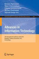 Advances in Information Technology PDF