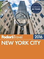 Fodor's New York City 2016