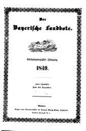 Der Bayerische Landbote: 1849