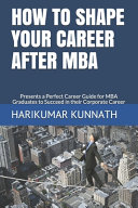 How to Shape Your Career After MBA PDF