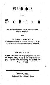 Geschichte von Baiern: Band 6,Teil 2