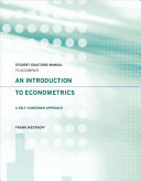 An Introduction to Econometrics PDF