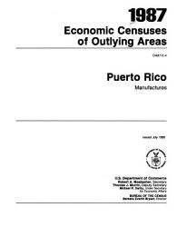 1987 Economic Censuses Of Outlying Areas Book PDF