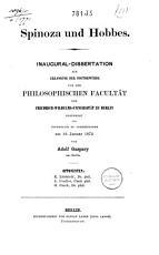 Spinoza und Hobbes PDF