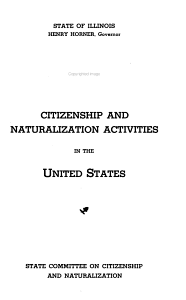 Citizenship and Naturalization Activities in the United States PDF