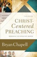 Christ Centered Preaching PDF