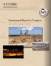 Semiannual Report to Congress by the United States Nuclear Regulatory Commission (NRC): April 1, 2010-September 30, 2010