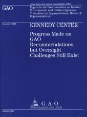 Kennedy Center: Progress Made on GAO Recommendations, but Oversight Challenges Still Exist