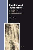 Buddhism and Transgression PDF