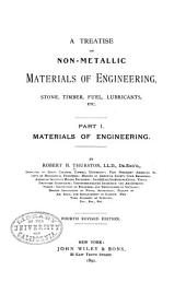 Materials of Engineering: Volume 1