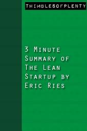 3 Minute Summary of The Lean Startup by Eric Ries