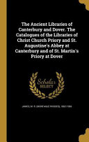 ANCIENT LIB OF CANTERBURY & DO