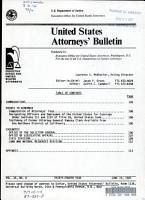 United States Attorneys Bulletin PDF
