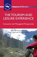 The Tourism and Leisure Experience PDF