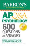 AP Q&A Psychology