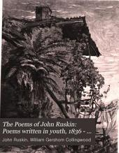 Poems written in youth, 1836 - 1845, and later poems