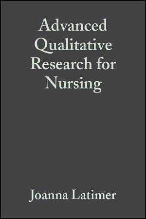 Advanced Qualitative Research for Nursing PDF