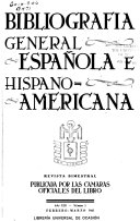 Bibliograf  a general espa  ola e hispanoamericana PDF