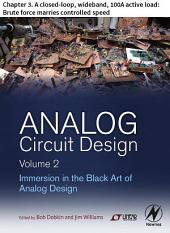 Analog Circuit Design Volume 2: Chapter 3. A closed-loop, wideband, 100A active load: Brute force marries controlled speed