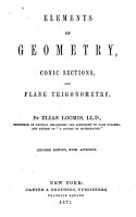 Elements of Geometry  Conic Sections  and Plane Trigonometry PDF