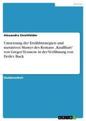 """Umsetzung der Erzählstrategien und narrativen Muster des Romans """"Knallhart"""" von Gregor Tessnow in der Verfilmung von Detlev Buck"""