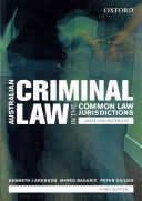 Australian Criminal Laws In The Common Law Jurisdictions Australian Criminal Laws In The Common Law Jurisdictions