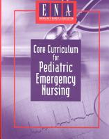 Core Curriculum for Pediatric Emergency Nursing PDF