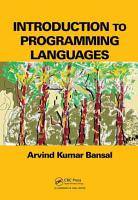 Introduction to Programming Languages PDF