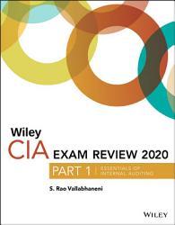 Wiley Cia Exam Review 2020 Part 1 Book PDF