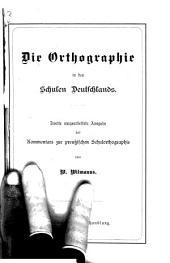 Die Orthographie in den Schulen Deutschlands