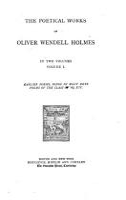 The Works of Oliver Wendell Holmes  Poetical works PDF