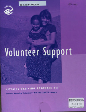 HIV AIDS Training Resource Kit