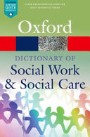 A Dictionary of Social Work and Social Care PDF