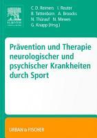Pr  vention und Therapie neurologischer und psychischer Krankheiten durch Sport PDF