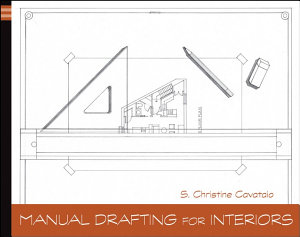 Manual Drafting for Interiors Book
