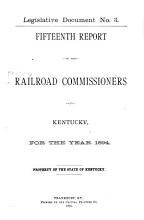 Report of the Railroad Commission of Kentucky PDF