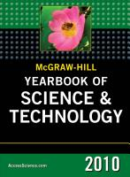 McGraw Hill Yearbook of Science and Technology  2010 PDF