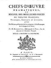 Chefs-d'oeuvre drammatiques