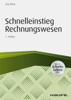 Schnelleinstieg Rechnungswesen   inkl  Arbeitshilfen online PDF