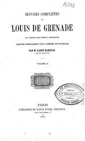 Oeuvres complètes de Louis de Grenade: Volume9