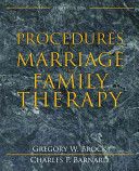 Procedures in Marriage and Family Therapy