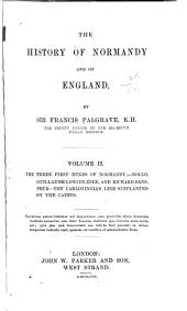 The history of Normandy and of England: Volume 2