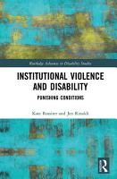 Institutional Violence and Disability PDF