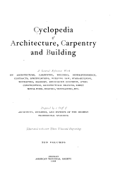Cyclopedia of architecture, carpentry and building: Volume 1