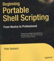 Beginning Portable Shell Scripting PDF